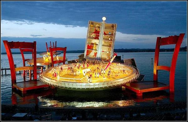 Опера на озере. Брегенц.
