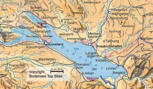Маршрут озеро Бодензее