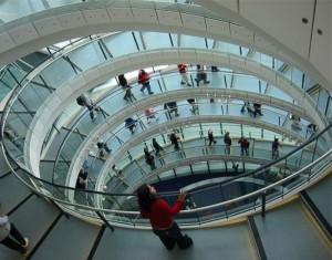 Мэрия Лондона - стеклянное яйцо