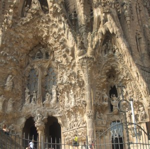 Барселона, шедевры Антонио Гауди