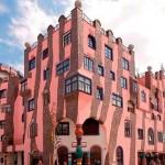 Зелено-розовая цитадель
