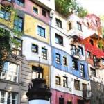 Жизнерадостный дом в Вене