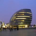 Мэрия Лондона – стеклянное яйцо