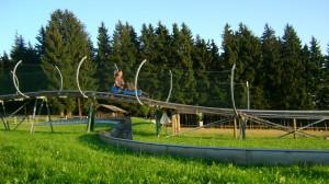 Баварский Лес, летние аттракционы.