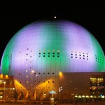 Достопримечательности Стокгольма. Арена Globen.