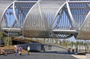 Мост Arganzuela. Мадрид