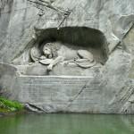 умирающий лев