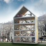 Необычный дом в Вене