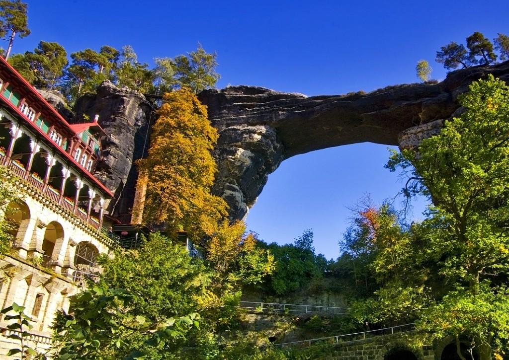Чешская Швейцария Pravčická brána
