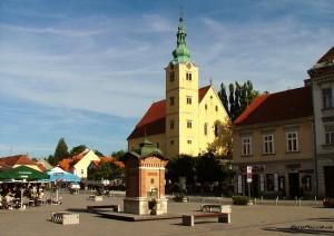 Самобор старинный хорватский город