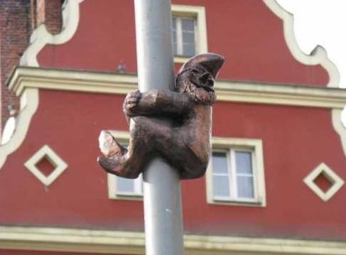 город гномов - Вроцлав