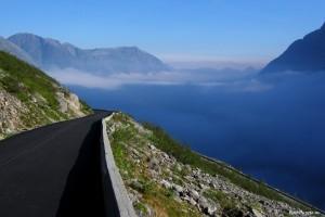 Норвегия дорога Торллей