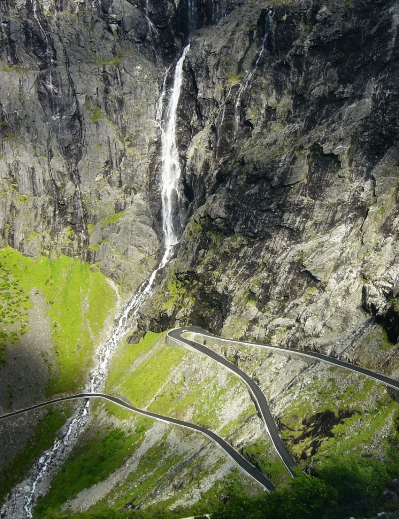 Норвегия дорога Троллей