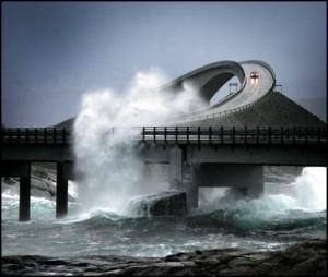 Норвегия Атлантическая дорога