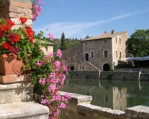 BAGNO VIGNONI отдых в Тоскане