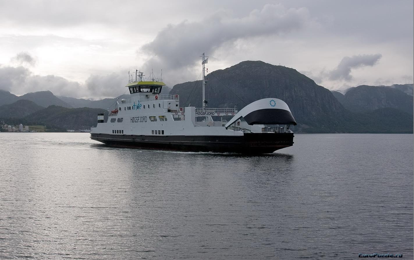 Маршрут-фьорды Норвегии