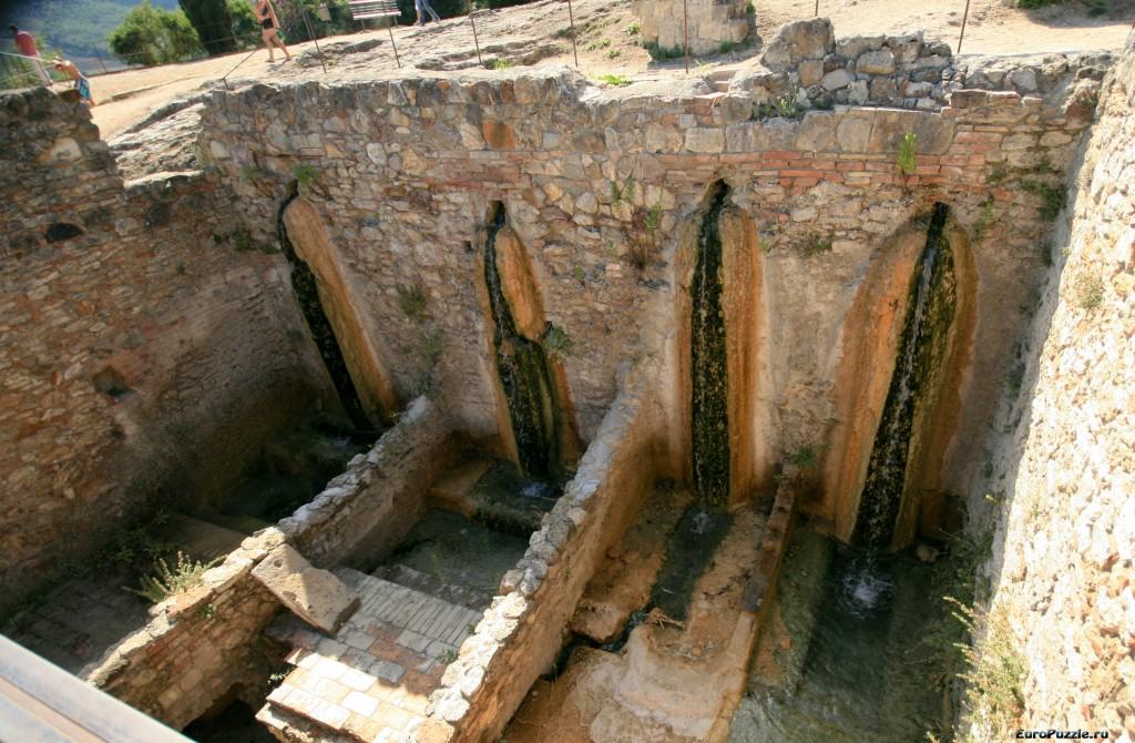 Bagno Vignoni термальный отдых в Тоскане