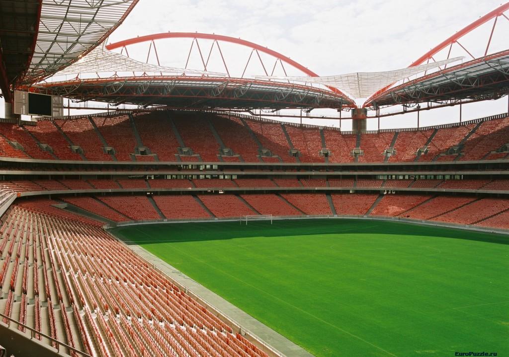 Футбольная арена клуба Бенфика. Лиссабон