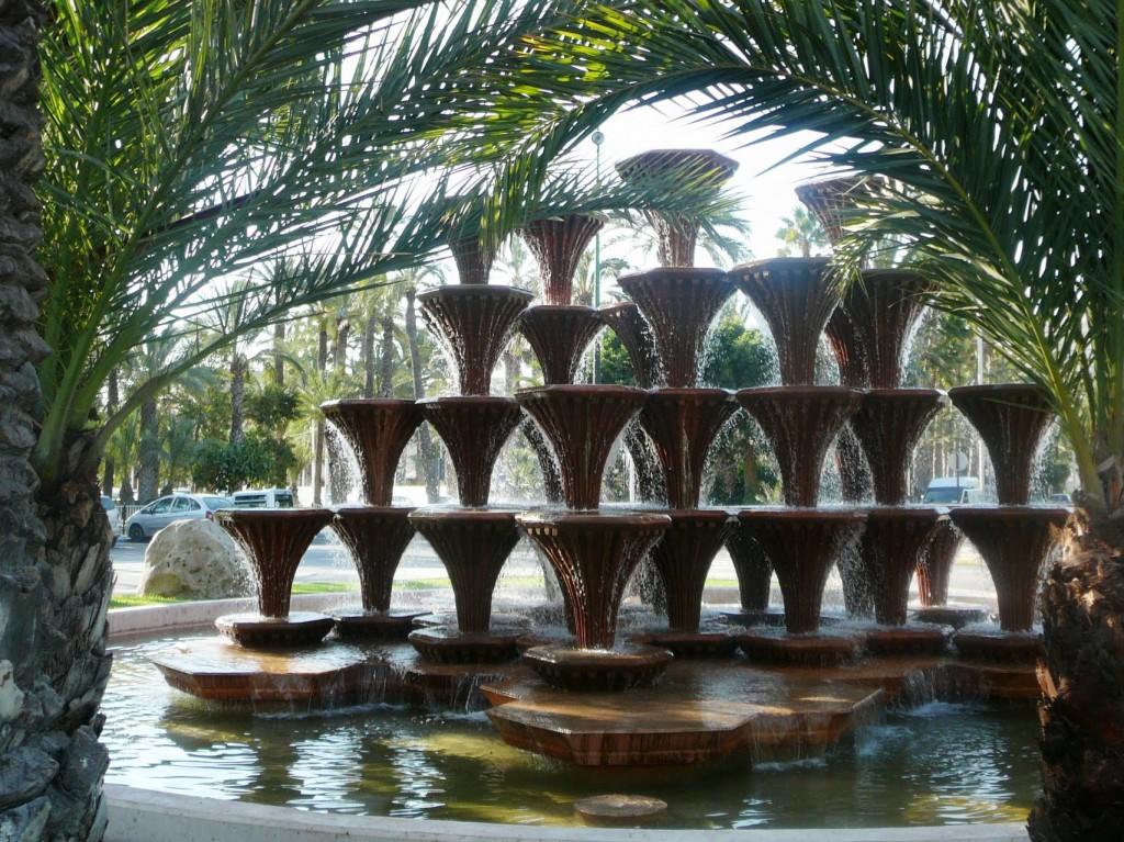 Эльче - пальмовый сад Испании