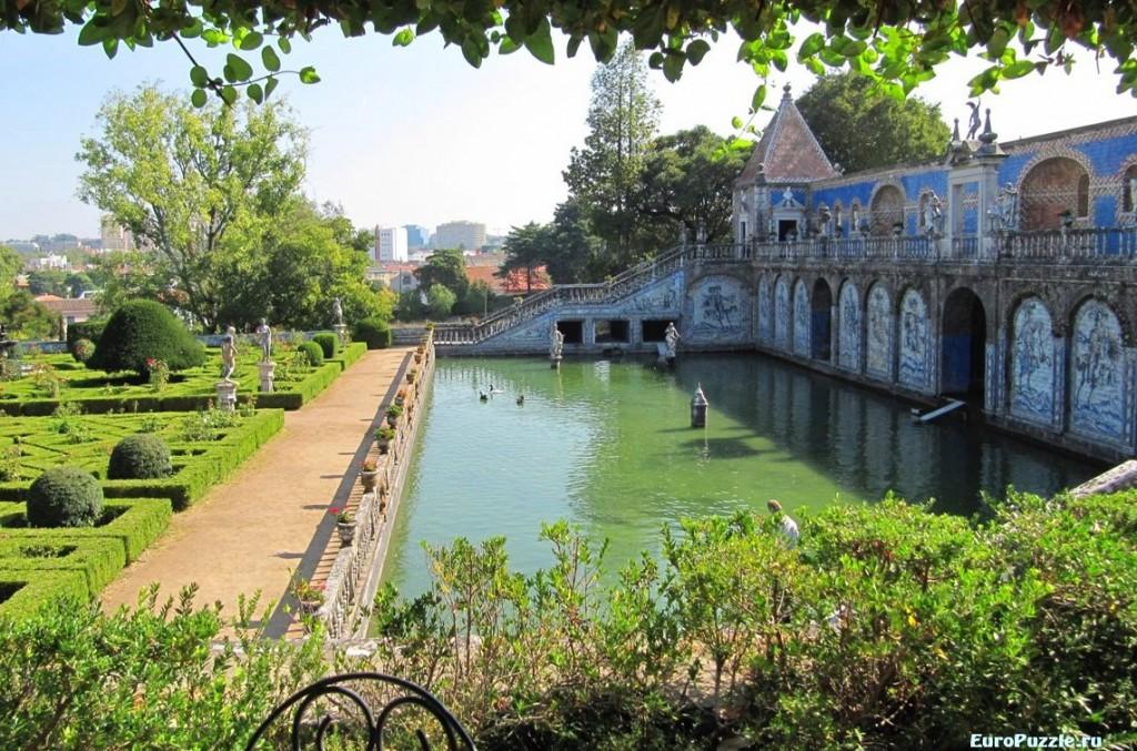 Дворец и сад маркизов де Фронтейра Лиссабон