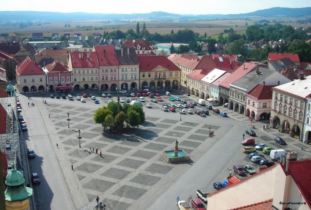Йичин - город полководца Вальдштейна
