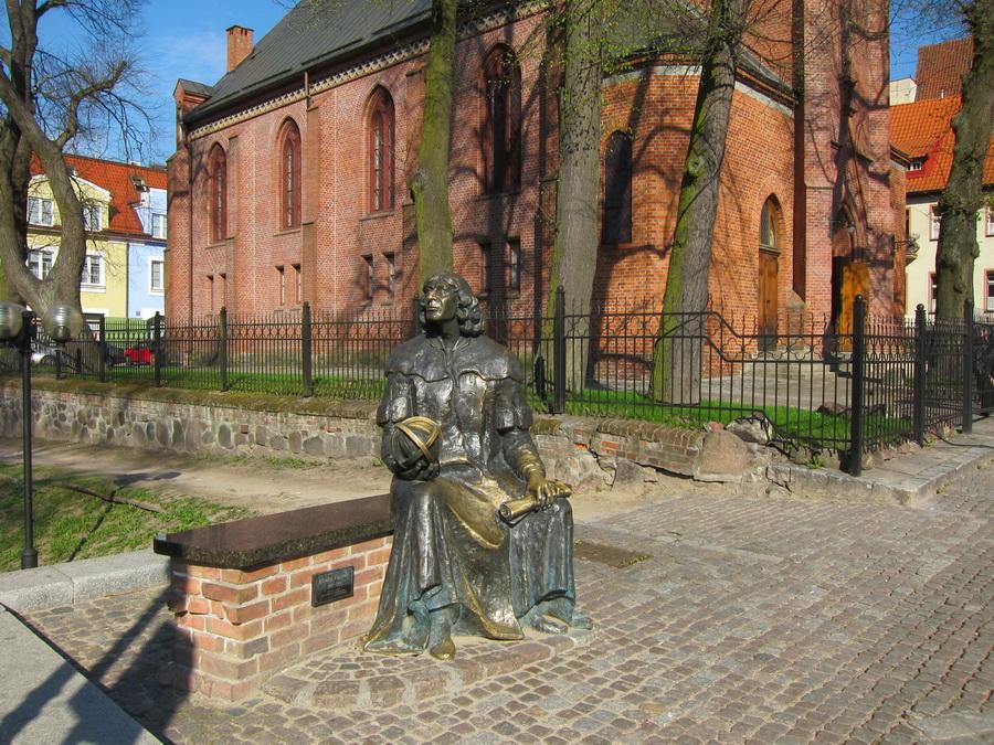 Костел святого Якуба Ольштын, города Польши