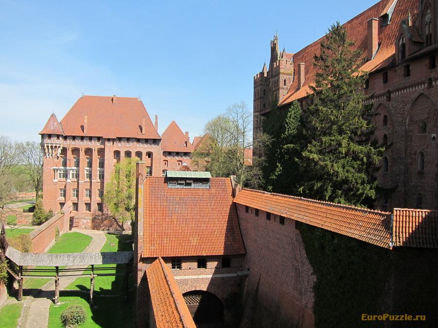 Мальборк - замок Тевтонских рыцарей