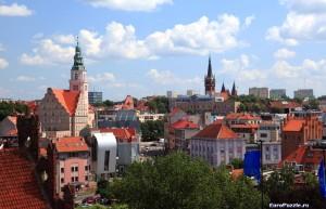 Ольштын, города Польши