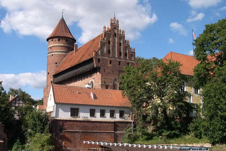 замок Ольштын, города Польши