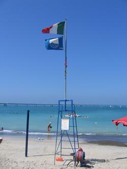 Пляжи с наградой Голубой флаг 2012