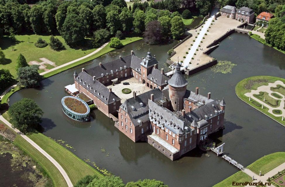 Замок-отель Parkhotel Wasserburg Anholt, Германия