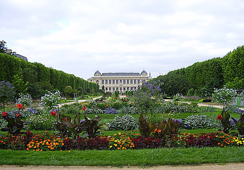 Национальный музей естественной истории в Париже