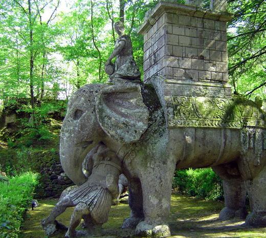 Парк монстров или Священный лес Бомарцо