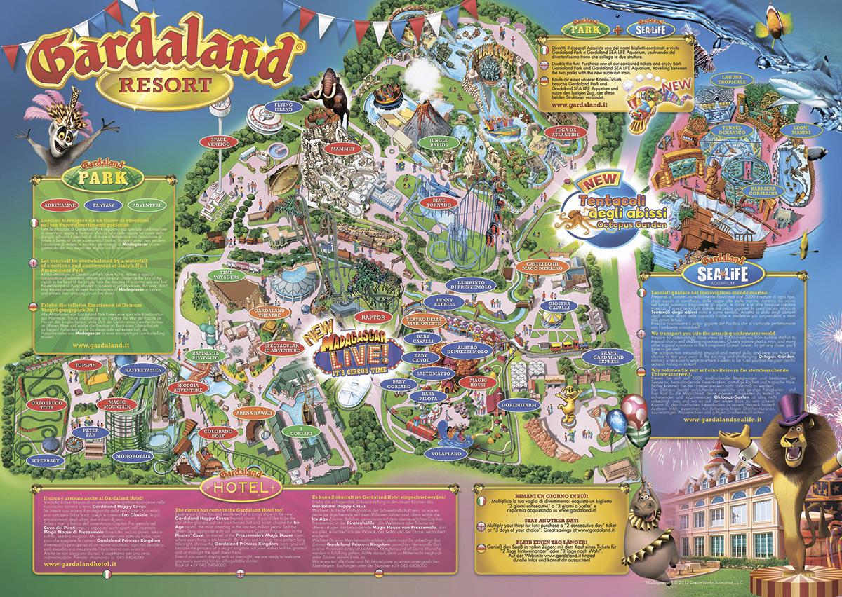 Гардаленд -  парк аттракционов Италии