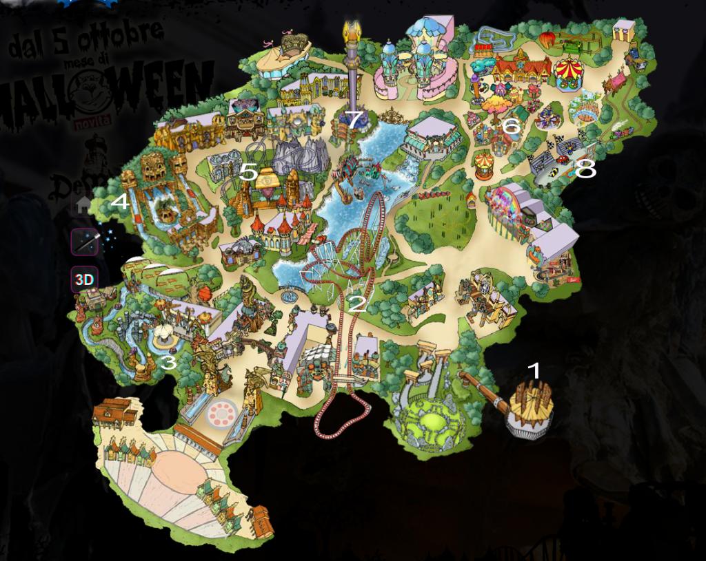 Rainbow Magicland - отдых в Италии с детьми