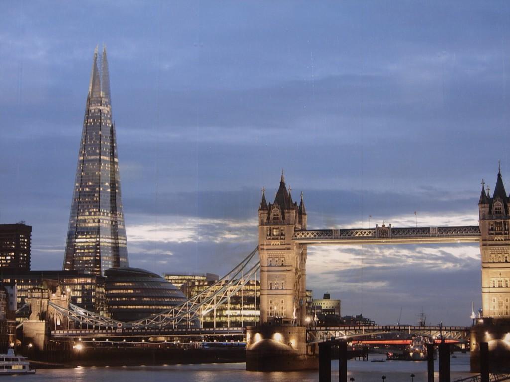 Небоскреб в Лондоне The Shard (Осколок)