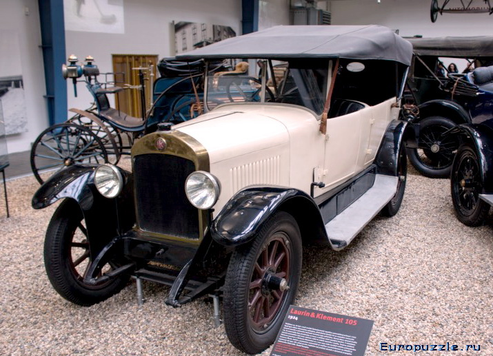 Национальный технический музей Праги Laurin & Klement 1924 года.