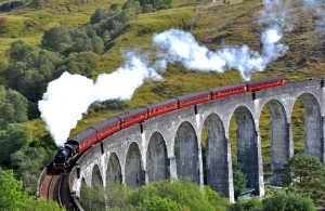 """Путешествие на поезде """"Хогвартс-Экспресс"""" Шотландия"""